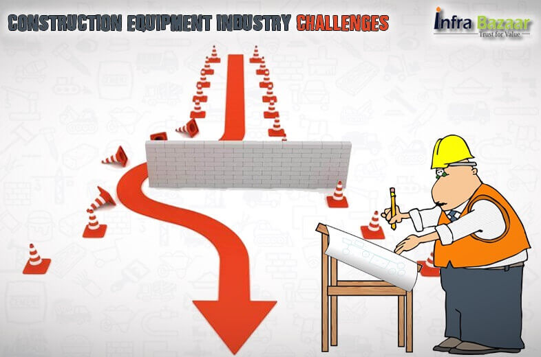 Challenges Faced by the Construction Equipment Industry |Infra Bazaar