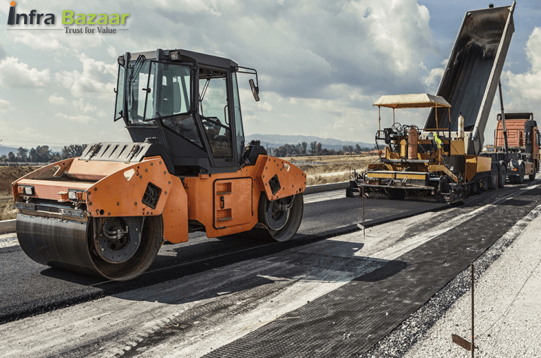 Union Transport minster intend to reach 40 km a day road construction target