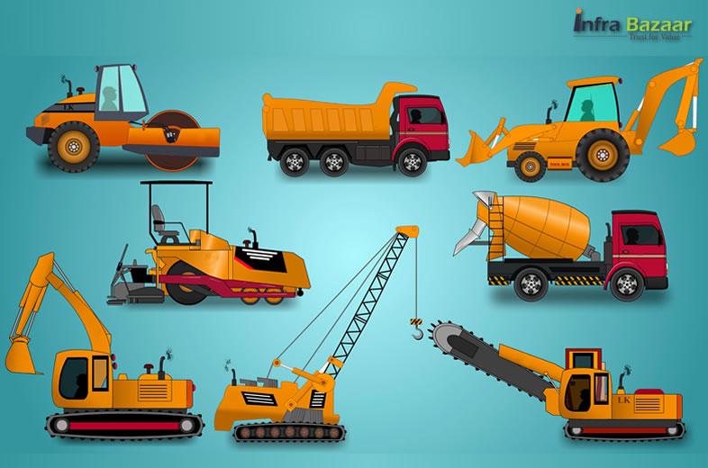 Bid and Buy Construction Equipment Online  Infra Bazaar