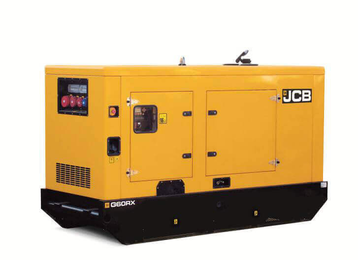 JCB Debuts Diesel Generators in India  Infra Bazaar