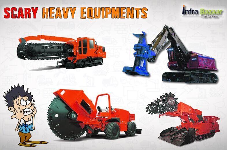 Top 5 Scary Heavy Equipments |Infra Bazaar