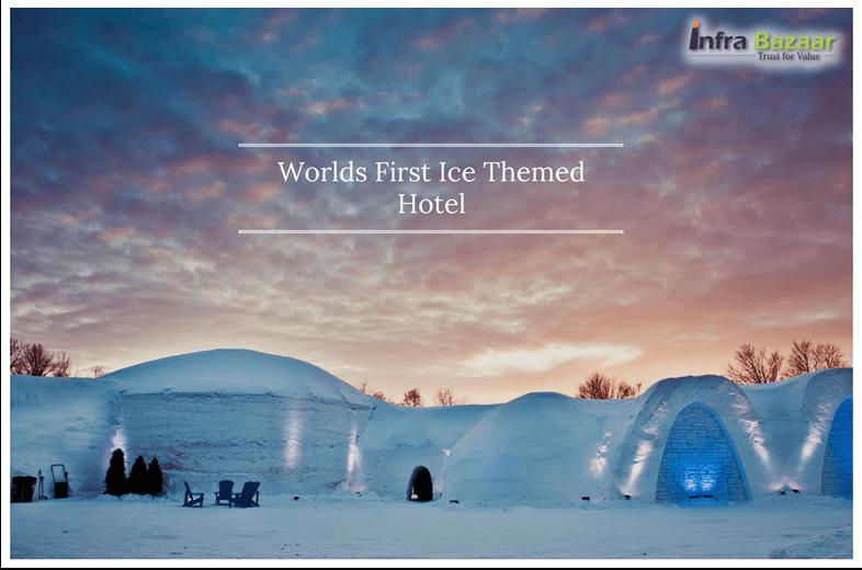 World's First Ice Themed Hotel Opens in Sweden  Infra Bazaar