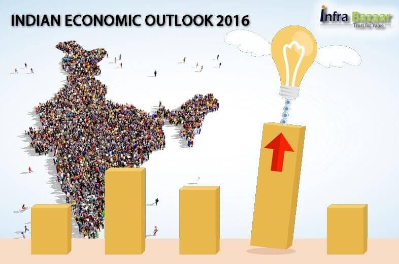INDIAN ECONOMIC OUTLOOK - 2016 |Infra Bazaar