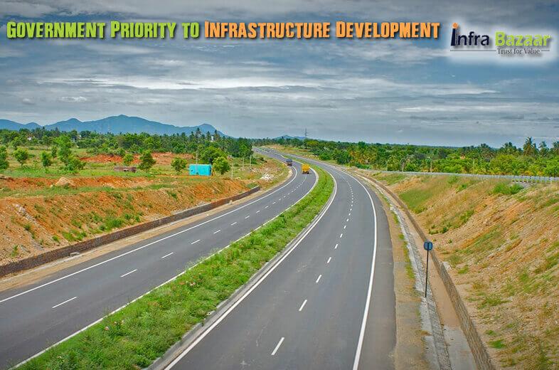 Government Priority to Infrastructure Development  Infra Bazaar