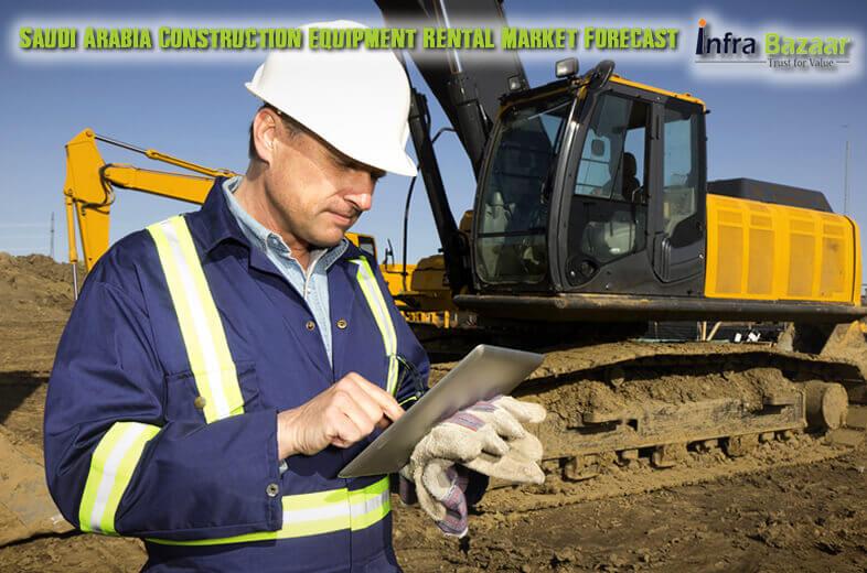 Saudi Arabia Construction Equipment Rental Market Forecast |Infra Bazaar