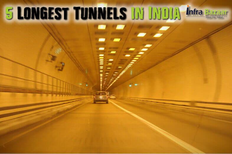 5 Longest Tunnels in India  Infra Bazaar