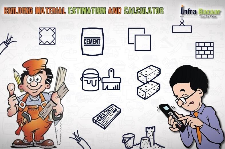 Building Material Estimation and Calculator  Infra Bazaar