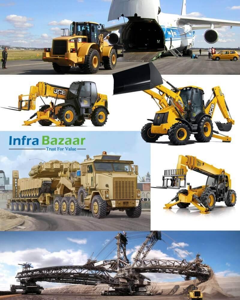 Heavy Equipment Contributes to Industrial Development |Infra Bazaar