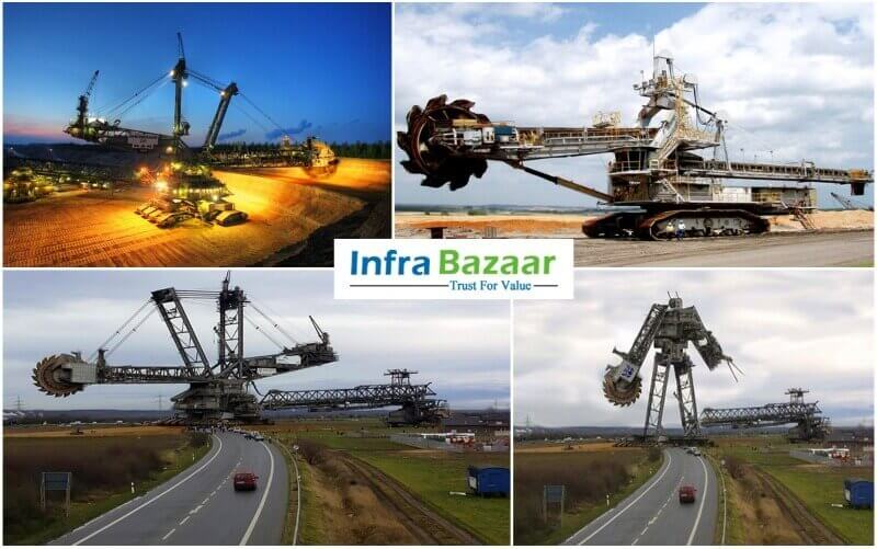 THE LARGEST LAND VEHICLE IN THE WORLD  Infra Bazaar
