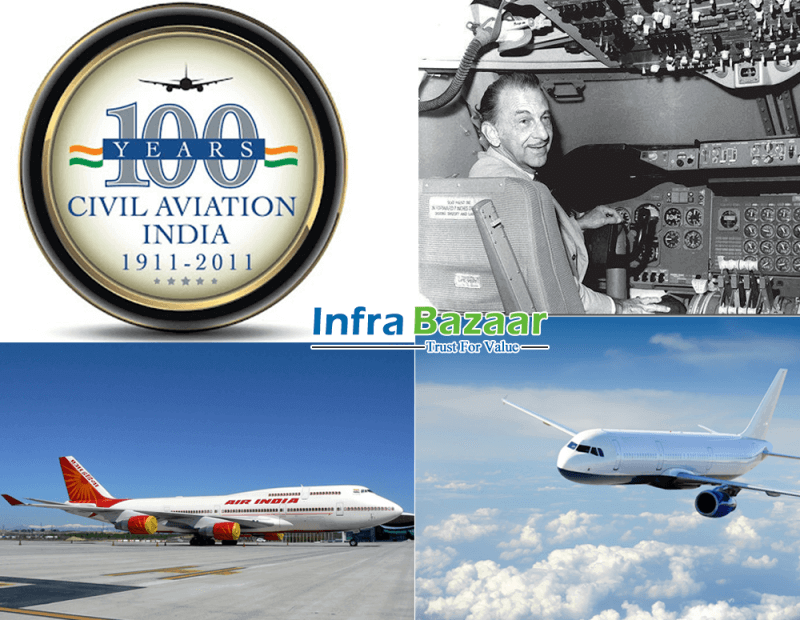 India completed 100 years of aviation | Infra Bazaar
