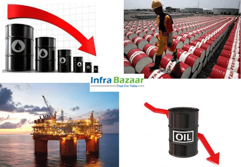 OIL DROPS BELOW $50 PER BARREL  Infra Bazaar