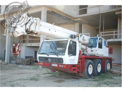 1999 Krupp Krupp 3045 Tracked Crane for rent in Mumbai by owners online at best price, Product ID: 445107, Image - Infra Bazaar