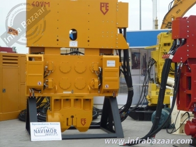 2021 PVE 40 VM Vibratory Hammer for rent in Micha?owice, Polska by owners online at best price, Product ID: 446408, Image - Infra Bazaar