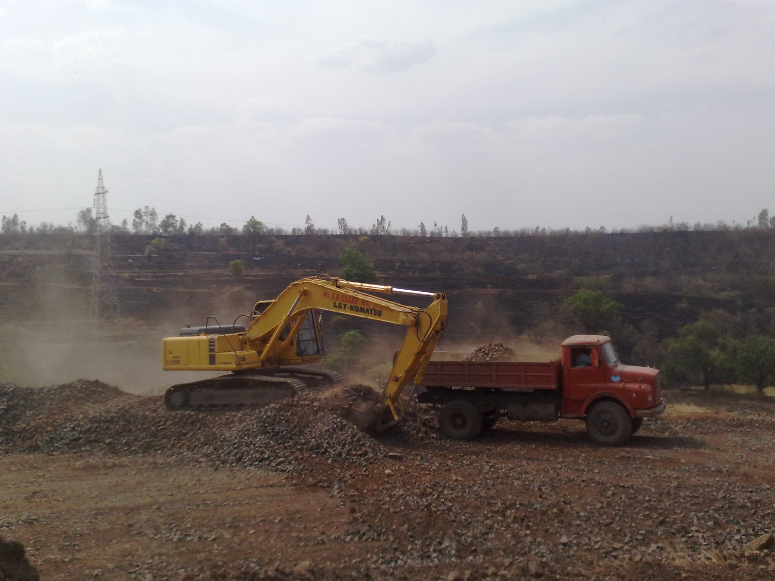 2021 L and T Komatsu PC 200 Excavator for rent in Pune, Maharashtra, India by owners online at best price, Product ID: 447182, Image - Infra Bazaar