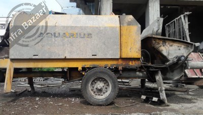 2021 Aquarius 1404D Concrete Pump for rent in Pune, Maharashtra, India by owners online at best price, Product ID: 447777, Image - Infra Bazaar